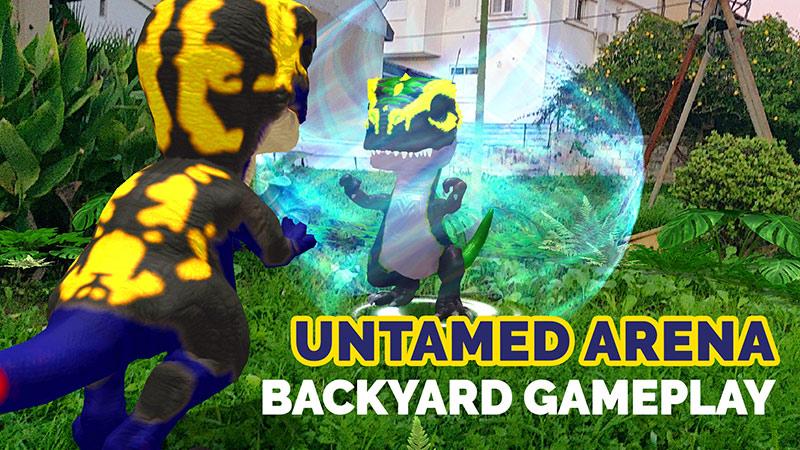 Untamed Arena, backyard gameplay