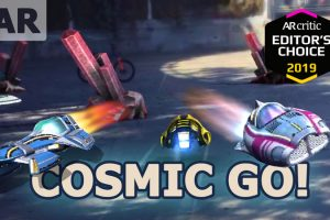 Cosmic GO! Augmented Reality Drifting Racing Game