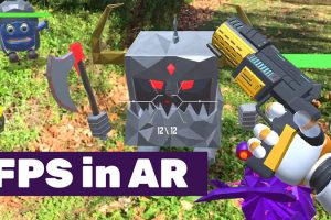 AR FPS Game for Android and iOS – Polygoons