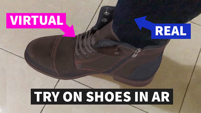 Try On Shoes App