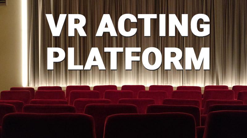 VR acting app