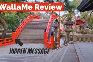 Hidden messages at SorihashiBridge, Osaka Japan