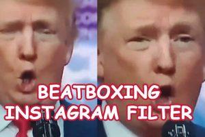 Beatbox Instagram filter – Create funny meme videos
