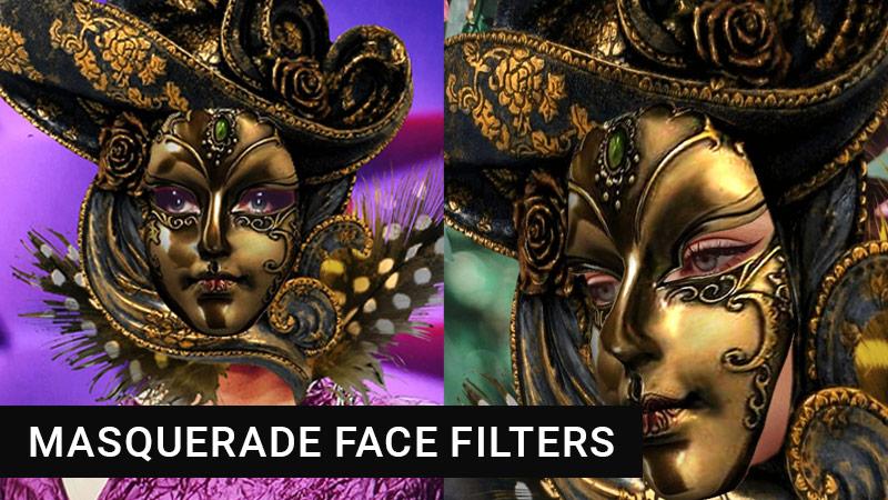 Retro Instagram face masks
