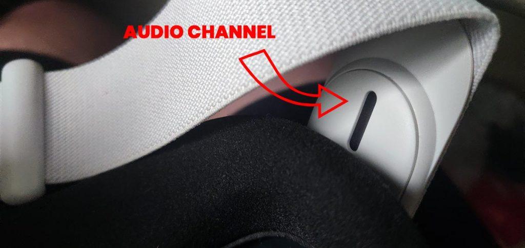Oculus Quest 2 sound channel